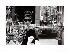 Audrey Hepburn People Art Print - 80 x 60 cm