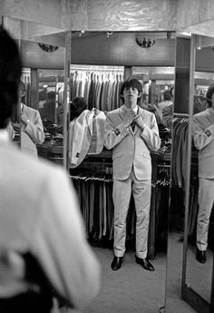 Keith Richards - Beau Gentry on North Vine Street in Hollywood; 4 June 1964
