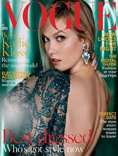 British Vogue magazine (December 2015 or January 2016 issue) - Whitcoulls/bookstores
