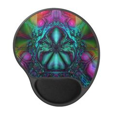 Argiopidae Emerging  Gel Mousepad from Bill M. Tracer Studio: http://www.zazzle.com/argiopidae_emerging_gel_mousepad-159527543824728791 #art #abstract #fractals #postmodern #contemporary #mousepad