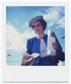 Poloroid photo of Princess Diana.  Enjoy RUSHWORLD boards, DIANA PRINCESS OF WALES EXTENSIVE PHOTO ARCHIVE and UNPREDICTABLE WOMEN HAUTE COUTURE. Follow RUSHWORLD! We're on the hunt for everything you'll love!