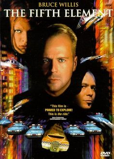 The Fifth Element ~ one of my all-time favorite movies, and one of the best things Bruce Willis ever did. Also, Chris Tucker, Milla Jovovich and Gary Oldman. Bruce Willis, See Movie, Movie List, Film Movie, Chris Tucker, Gary Oldman, Milla Jovovich, The Fifth Element Movie, Film Mythique