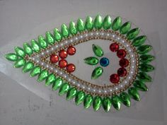 a splash of colour: Kundan rangolis