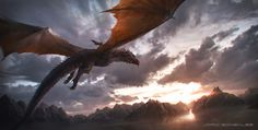 Aegon and Balerion