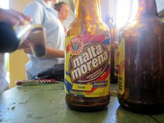 Malta is a sweet, carbonated malt beverage enjoyed throughout the Caribbean. A popular way of drinking malta in Latin America is by mixing it with condensed or evaporated milk.