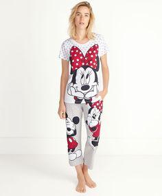 Mickey and Minnie pedal-pushers - OYSHO
