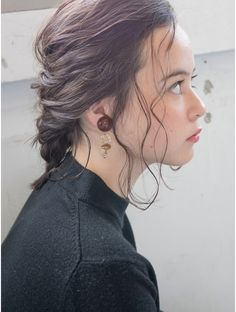 Up Styles, Short Hair Styles, Hair Arrange, Hair Setting, Hair Goals, Ponytail, Braids, Hair Color, Make Up