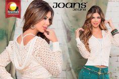 Te invitamos a conocer Joans Jeans, una marca que se identifica por crear prendas con calidad, diseño, color y arte; haciendo del índigo una propuesta diferente. Visítalos en el local 2186.  #SoyCapaz de creer en mi país!