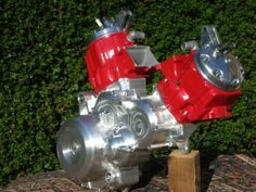 Two honda CR500 engines make a mental CR1000 V-twin!!!!
