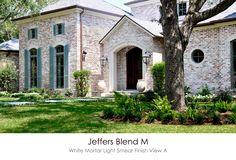 Jeffers Blend M White Mortar Flush Cut Light Smear Technique View A