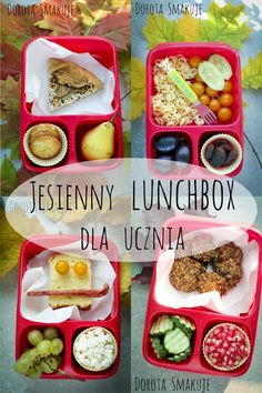 Lunchbox dla ucznia Polish Recipes, Bento, Meal Prep, Lunch Box, Food And Drink, Healthy Recipes, Meals, Cooking, Breakfast