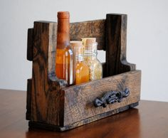 Shelf  Mail Organizer  Spice Rack  Key by revampedandrevived, $36.00