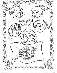 MAESTRA ERIKA VALECILLO: IMAGENES DIA DE LAS NACIONES UNIDAS Teacher Hacks, Snoopy, Peace, Teaching, Education, School, Fictional Characters, Google, Organized Teacher