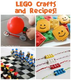 Lego Crafts and Recipes - Fun Family Crafts