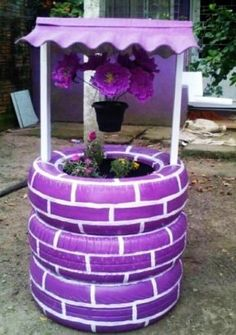 Garden Ideas With Tires cool thing for a small flower garden or a garden of veggies. | new