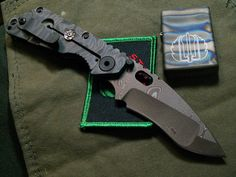 Strider ./ Knife Pics