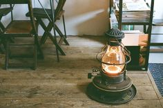 old-school stove