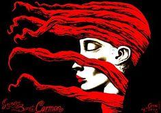 Polish Poster Art: Carmen/Bizet