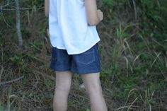 Sunshine Shorts pattern girls' summer by RabbitRabbitCreation