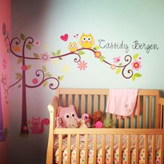 The giving tree nursery theme. I love the book and this is so cute ...