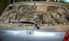 Scott Wade's Dirty Car Art