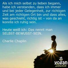 Als ich mich selbst zu lieben begann, habe ich verstanden, dass ich immer und bei jeder Gelegenheit... Charlie Chaplin über Selbstliebe | Zitate und Sprüche auf deutsch