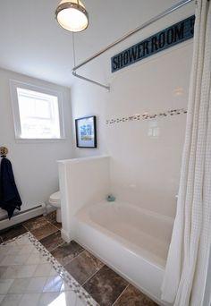 Bathroom Soaking Tub With Jets Wearefound Home Design. Bathroom Disassemble And Remove Bathtub-shower . Bathroom Renos, Bathroom Renovations, Bathroom Faucets, Washroom, Concrete Bathroom, Budget Bathroom, Bathroom Ideas, Bathroom Updates, Design Bathroom