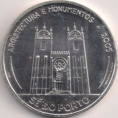 Motivseite: Münze-Europa-Südeuropa-Portugal-Euro-10.00-2005-Sé do Porto