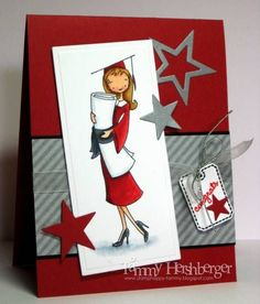 my favorite things ink | Congrats Graduate Grad Girl ala' mode, Notched Tag Die and Stamp set ...