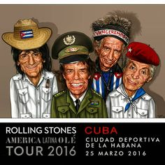 """Tattoo You Official on Instagram: """"#Cartoon #StonesCuba #TheRollingStones"""""""