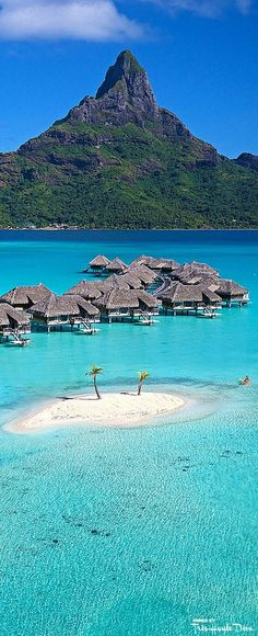 Live out your dessert island fantasies at the InterContinental Bora Bora Pinterest — Très Haute Diva #Mylifemystyle