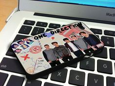 One Direction Letter iPhone 4 iPhone 4S Case by snowspace on Etsy, $15.79