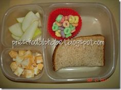 Great idea for traveling with toddlers.  I usually bring several of his small 'take n toss' bowls with different snacks. Much easier to use one container with cupcake liners to separate the snacks. :)