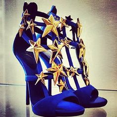 Seeing Stars Giuseppe Zanotti Shoes Would be so perfect for my Wonder Woman costume if I could commit to walking around in heels all night..!