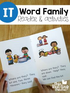 IT Word Family Reader and Activities from Learn to Read - This Reading Mama
