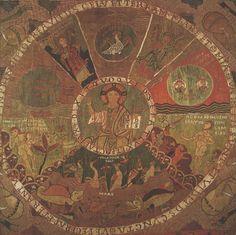 Detail from the 'Genesis' hanging. Calatunya, 11th Century