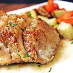 Brown Sugar Garlic Pork Loin Sticky and sweet with a punch of garlic, this Brown Sugar Garlic Pork Loin is sure to be a hit. An easy meal, start to finish in 45 minutes.