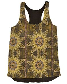 Vividly - Sunflower Delight Top, $78.00 (http://vividly.co/sunflower-delight-top/)