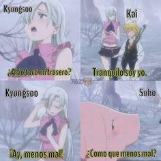 Kyungsoo, Kaisoo, Exo Memes, Family Guy, Kpop, Funny, Anime, Fictional Characters, Funny Memes