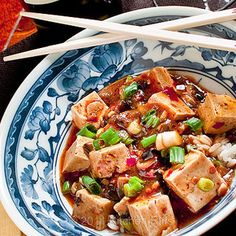Mapo Tofu in bowl by kitchenriffs Really good! I ended up with chili bean paste with black beans already in it, so just added 3 tablespoons. Didn't do sugar, pepper flakes, or sichuan pepper powder (although I want to try the latter).