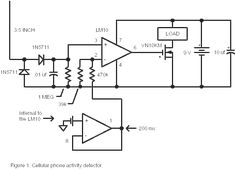 Improved cell phone detection circuit