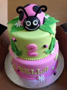 Ladybug Cake on Cake Central