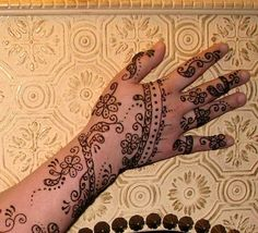 Here are the top 30 Easy and simple mehndi designs which an amateur person can make it by herself!!