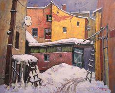 Iarna pe strada Vasile Diac – David Croitor  1,820.00lei
