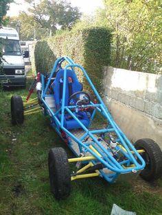 Badland buggy Kart Cross, Go Kart Frame, Go Kart Plans, Off Road Buggy, Reverse Trike, Sand Rail, Trophy Truck, Go Car, Car Volkswagen