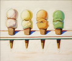 Inspiration Monday: Wayne Thiebaud