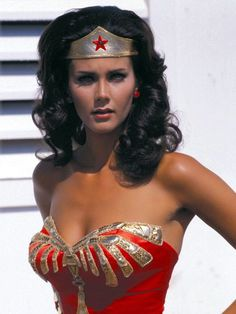 I used to twirl around pretending to become Wonder Woman...Lynda Carter was AWESOME!