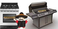Remember class... In Taco Cooking 101, with The Taco Rack you can have Oven Tacos or Grilled Tacos!!!