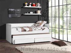 Detská posteľ s prístelkou a zásuvkami Robin ROKB9014