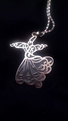 #Sufi #Whriling #Darvish #Turkish #Pendant #silver #belongings